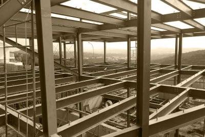 Metal architectural estructure